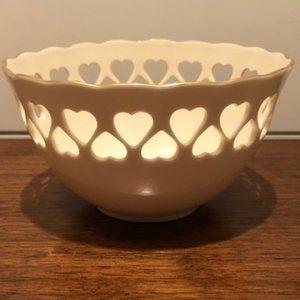 Lenox Eternal Hearts Pierced Bowl